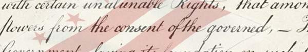 Flag over Declaration
