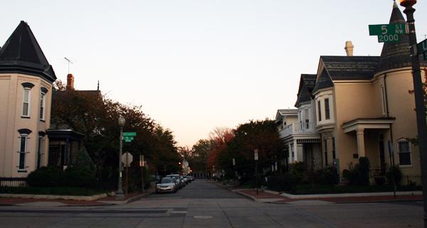 U Street in 2009