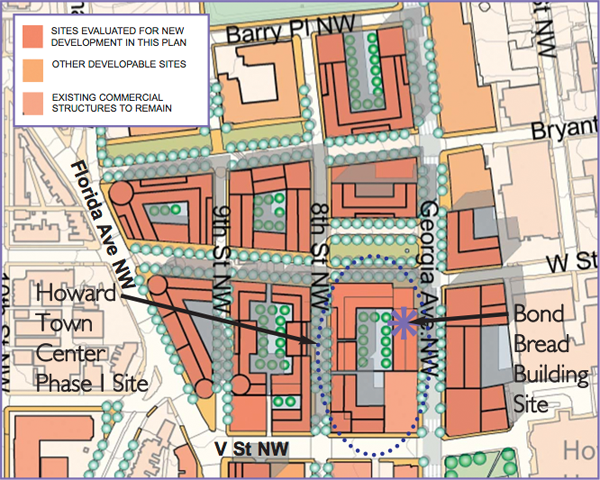 The DUKE Plan for Howard Town Center, approved by the City Council