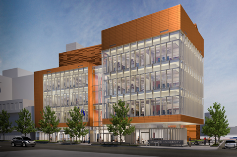 Design of Howard University's Interdisciplinary Research Building