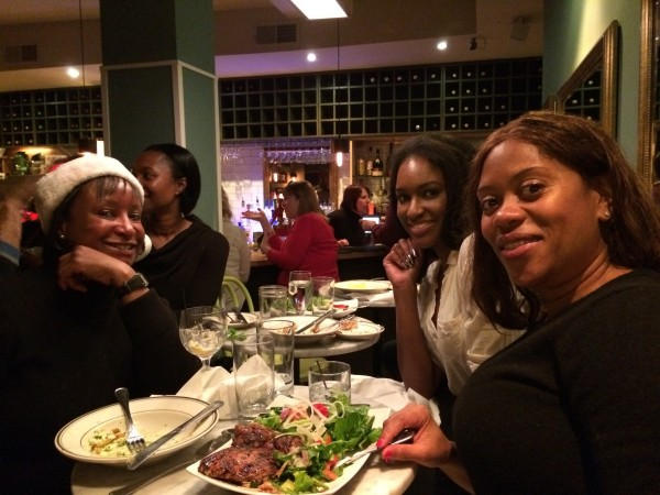 LeDroit Park residents at Bistro Bohem